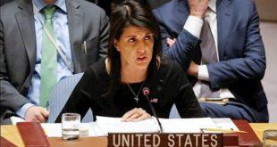 اعتراض مجدد نیکی هیلی به حضور ایران در سوریه