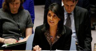 نیکی هیلی: ایران و حزبالله برای حضور درازمدت در سوریه برنامهریزی کردهاند