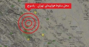 شرکت آسمان: همه سرنشینان هواپیما کشته شدند
