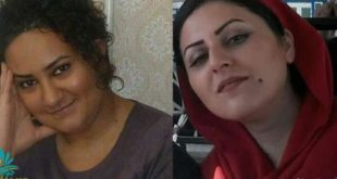 اعتصاب غذای آتنا دائمی و گلرخ ایرایی در زندان قرچک ورامین